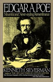 Cover of: Edgar A. Poe