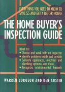 Cover of: The home buyer's inspection guide