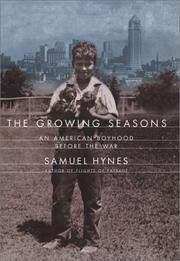 Cover of: The growing seasons