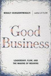 Cover of: Good Business