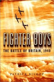 Cover of: Fighter Boys | Patrick Bishop