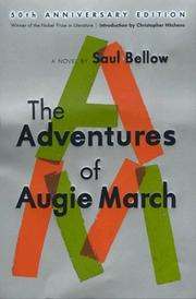 Cover of: The adventures of Augie March: a novel.