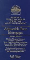 Cover of: Adjustable rate mortgages