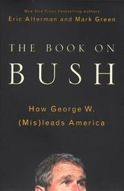 Cover of: The book on Bush
