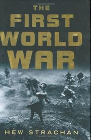 Cover of: The First World War | Hew Strachan