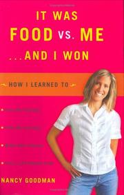Cover of: It Was Food vs. Me ... and I Won
