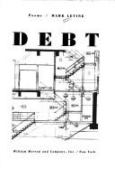Cover of: Debt