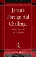 Cover of: Japan's foreign aid challenge
