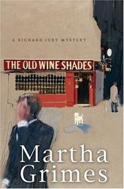 Cover of: The Old Wine Shades