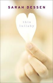 Cover of: This Lullaby: a novel