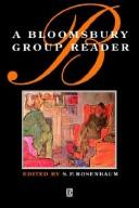 Cover of: A Bloomsbury group reader
