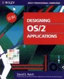 Cover of: Designing OS/2 Applications | David E. Reich