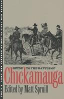 Cover of: Guide to the Battle of Chickamauga |