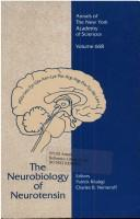 Cover of: The Neurobiology of neurotensin