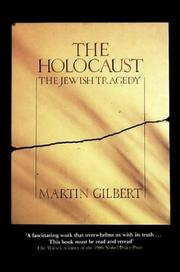 Cover of: The Holocaust | Martin Gilbert