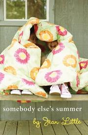 Cover of: Somebody Else