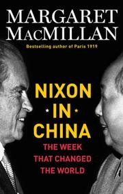 Cover of: Nixon in China