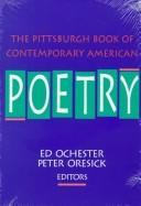 Cover of: The Pittsburgh book of contemporary American poetry
