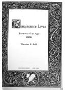 Cover of: Renaissance lives | Theodore K. Rabb