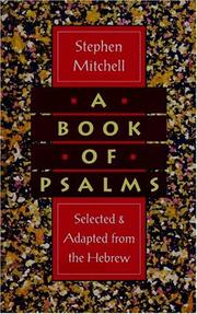 Cover of: A Book of Psalms