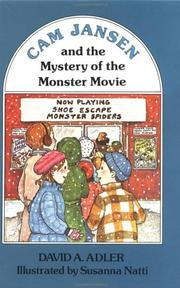 Cover of: Cam Jansen and the Mystery of the Monster Movie