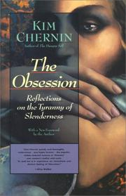 Cover of: obsession | Kim Chernin