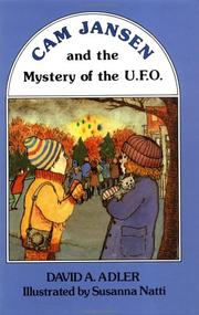 Cover of: Cam Jansen and the mystery of the U.F.O.