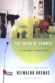 Cover of: The Color of Summer, or the New Garden of Earthly Delights