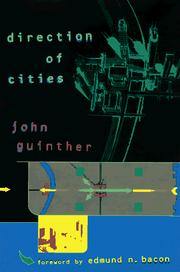 Cover of: Direction of cities