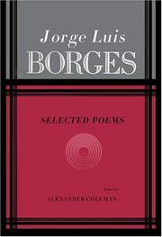 Poems by Jorge Luis Borges