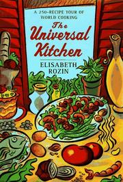 Cover of: The universal kitchen