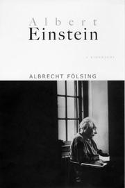 Cover of: Albert Einstein | Albrecht Fölsing