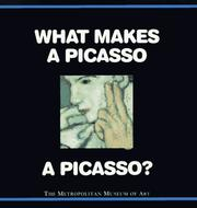 Cover of: What makes a Picasso a Picasso?