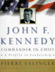 Cover of: John F. Kennedy, Commander in Chief
