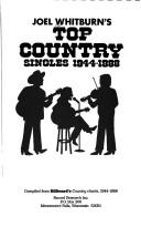 Cover of: Joel Whitburn's top country singles, 1944-1988
