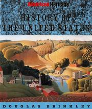 Cover of: American Heritage history of the United States
