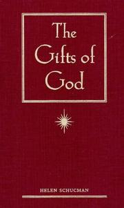 Cover of: gifts of God | Helen Schucman