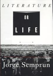 Cover of: Literature or life