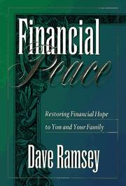 Cover of: Financial peace