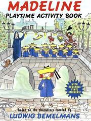 Cover of: Madeline Playtime Activity Book