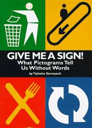 Cover of: Give me a sign!
