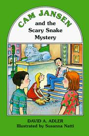 Cover of: Cam Jansen and the scary snake mystery