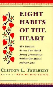 Cover of: Eight habits of the heart