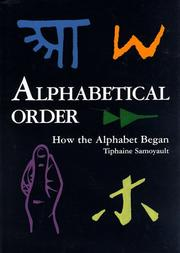 Cover of: Alphabetical order