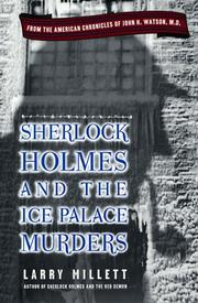 Cover of: Sherlock Holmes and the Ice Palace Murders