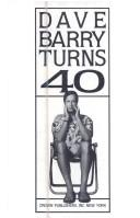 Cover of: Dave Barry turns 40
