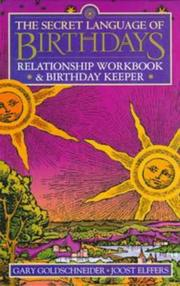 Cover of: Secret Language of Birthdays Relationship Workbook and Birthday Keeper