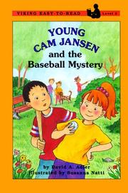 Cover of: Young Cam Jansen and the baseball mystery