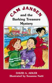 Cover of: Cam Jansen and the barking treasure mystery