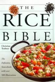 Cover of: The Rice Bible